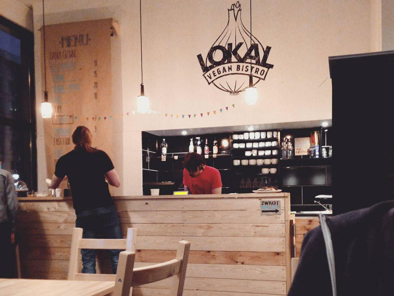Lokal Vegan Bistro – Warszawa, Śródmieście