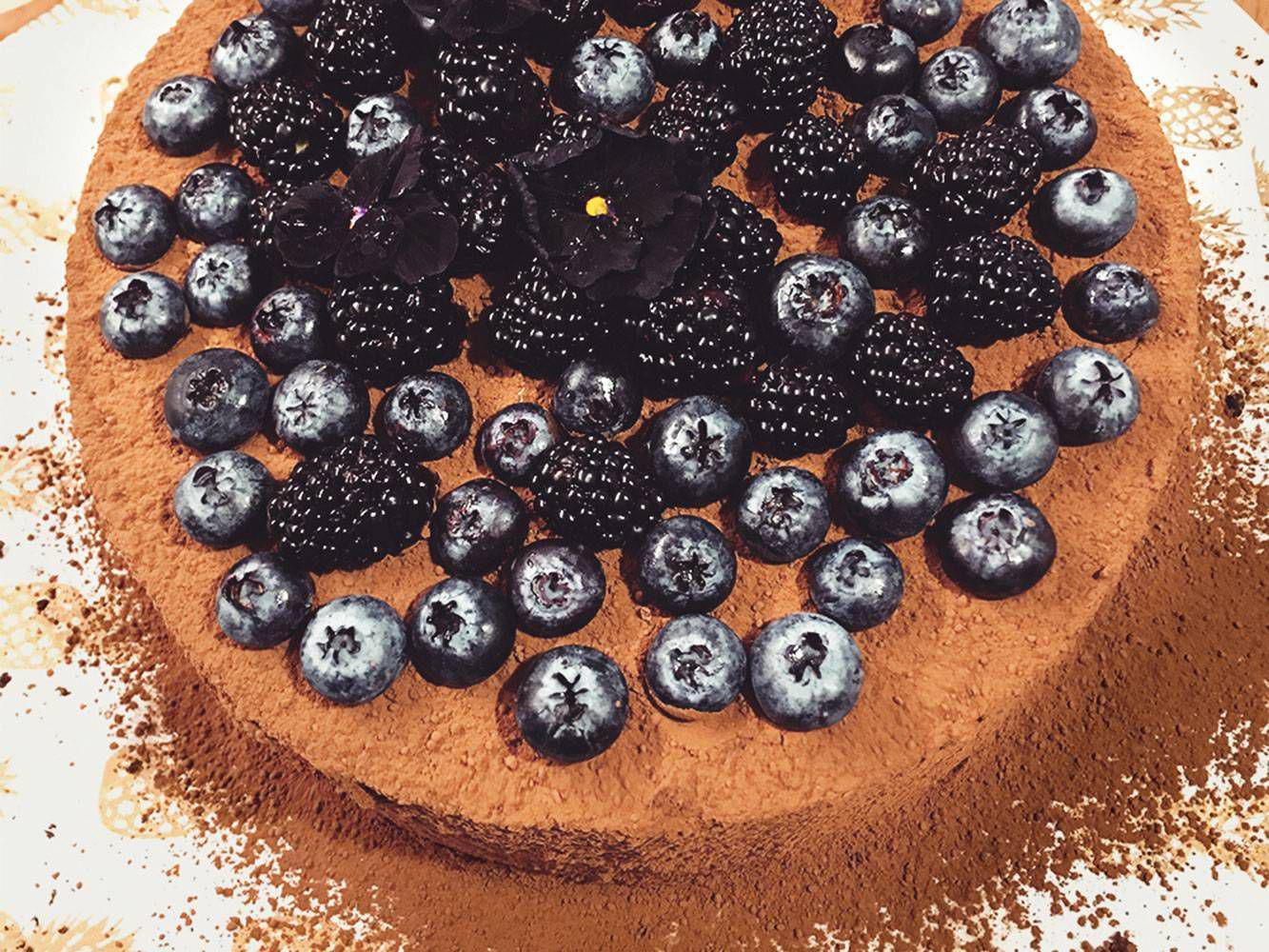 Tort kawowo czekoladowy
